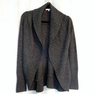 Vince Merino Wool Alpaca Open Front Cardigan S